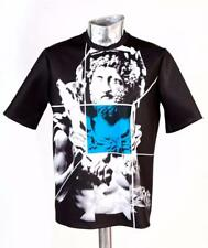 BNWT Men's Emporio Armani Polyester T-Shirt Black Medium RRP £130