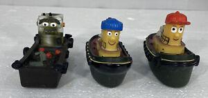Theodore tugboat   Eartl  Bath toys floats Hank Emily Guysborough  1998