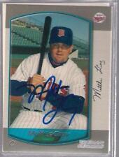 Minnesota Twins MATT LeCROY autographed 2000 Bowman