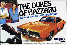 NEW The DUKES Of HAZZARD General Lee 01 DODGE CHARGER MODEL KIT MPC