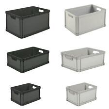 Eurobox Stapelbox Lagerkiste Transportbox 20L 45L 64L Weiß Grau Graphit Box