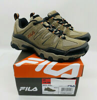 FILA Men's Midland Outdoor Hiking Athletic Trail Shoes Brown / Orange