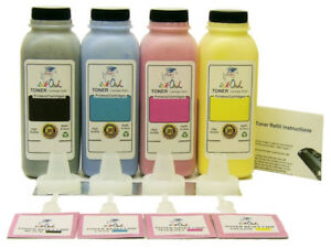 4 InkOwl COLOR Toner Refill Kit for SAMSUNG CLT-508 Series CLP-620ND 670N 670ND