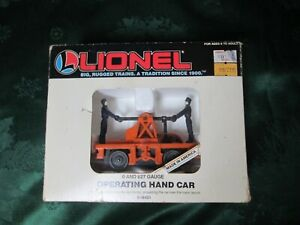 Lionel Operating Hand Car 6-18401