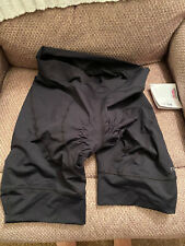 Terry Euro  Women's Cycling Shorts Large BLACK  NEW