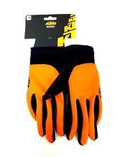 KTM Factory Team All Season Gloves Bicycle Bike Cycling Orange & Black Reduced