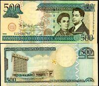 DOMINICAN REPUBLIC 500 PESOS ORO 2006 P 179 UNC