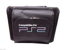 BORSA CUSTODIA PER PS2 SONY PLAYSTATION 2 SLIM VIDEOCAMERA DA VIAGGIO + PORTA CD