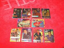 ELVIS PRESLEY COLLECTION RIVER GROUP DUFEX FOIL CHASE CARDS 10 DIFFERENT (INS10)