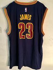 Adidas NBA Jersey Cleveland Cavaliers LeBron James Navy sz 3X