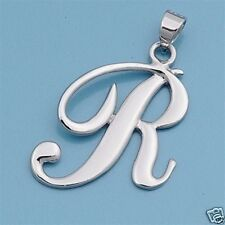 Alphabet Letter Pendant Sterling Silver 925 Best Price Jewelry Gift Initial R