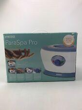 New In Box HoMedics ParaSpa Pro Therapy Paraffin Wax Bath PAR-150 + 3lb Wax AC4