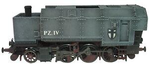 Artmaster 80.161 WWI. Pz. Lok T 9.3 Panzergehäuse 1:87 Bausatz Lok Panzerung