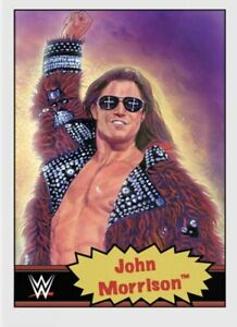 TOPPS WWE LIVING SET CARD JOHN MORRISON #67 ONLINE EXCLUSIVE LIMITED EDITION