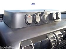 Switch panel midle dash tray for Jeep TJ, Wrangler 97-05 with 12v cig. outlet