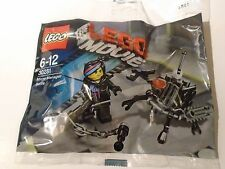 Lego 30281 Lego Movie Micro Manager Battle & Wyldstyle Brand New Sealed Polybag