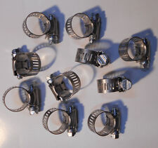 Ideal Hy Gear Vintage Auto High Pressure Hose Clamps w// Retaining Clip Lot of 6