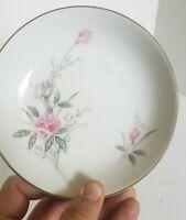 4 dessert plates & 4 dessert bowls Golden Rose Fine China Vintage Tea Party