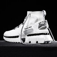 Fashion Mens Sneaker 2020 High Top Casual Shoes for Men Breathable Running Shoes