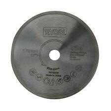 Ryobi Tile Saw Blade 178mm Diamond Edge 22.2mm Arbor Size & Max RPM 8500