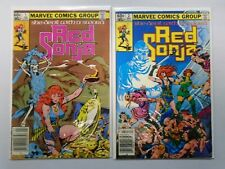 Red Sonja (1983 2nd Marvel Series) She-Devil with a Sword Set:#1+2, 6.0 - 1983