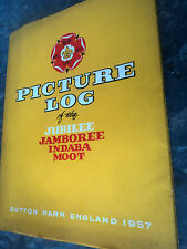 Boy Scout Book - Picture Log  - World Jamboree 1957 Sutton Coldfield England