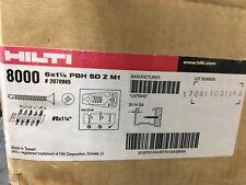 "HILTI PBH SD Z M1 DRYWALL SCREW 6x1-1/4"" 6000"