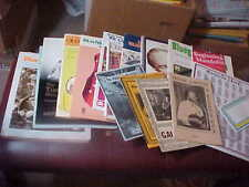 Lot of 11 Books Mandolin + 5 Booklets + Chord Sheet Good