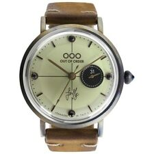 NEW OOO(OUT OF ORDER WATCH) Firefly Cream Damaged In Italy