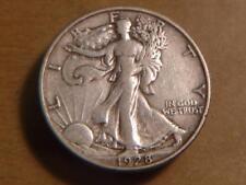 1928-S Walking Liberty Half Dollar, XF Condition...SKU#11193