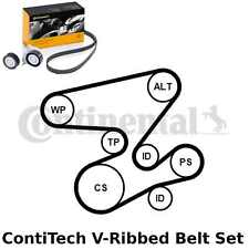 ContiTech V-Ribbed Belt Set Kit - Pt. No: 6PK2080K1 - 6 Ribs - OE Quality
