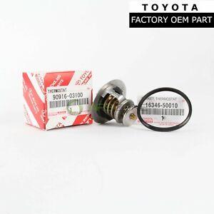 GENUINE TOYOTA TUNDRA LEXUS ENGINE COOLANT THERMOSTAT WITH GASKET OEM 9091603100
