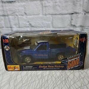 Maisto Limited Edition Dodge Ram Pickup Indianapolis 500 1:26 Die-Cast B9