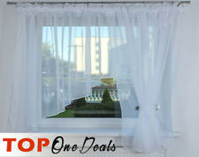 Voile Net Curtain Ready Made Modren Design Living Dining Room Bedroom Kitchen