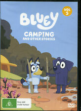 Bluey Volume 5 Camping and Other Stories DVD Region 4 Aus Kids Rated G