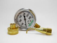 Complete Psi Check Kit At The Faucet And The Sprinkler- Gauge N Pitot Tube