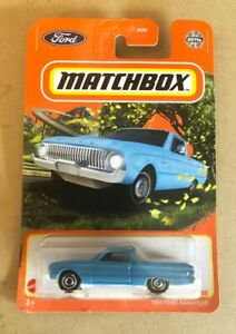 Matchbox 2021 Model Year - 1961 Ford Falcon Ranchero - Blue - #96/100 - NEW!!!