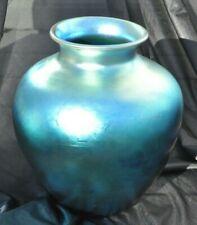 New listing Steuben Iridescent Blue Aurene Vase