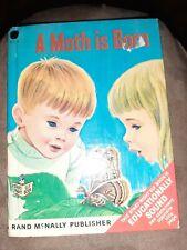 Herbert B. Walker A MOTH IS BORN Rand McNally Right-Start Elf Book 1967 HC VG
