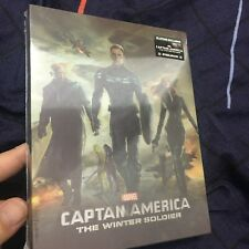 Captain America Winter Soldier Lenticular 3D+2D Blu-ray Steelbook Blufans NEW
