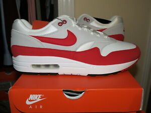 Nike Air Max 1 Anniversary Red OG 908375-103 2017 Release / Men's Size 10.0