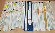 lot 22 paire Aiguilles a tricoter tricot toute taille DMC Bohin Perlac vintage