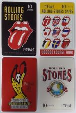 Rolling Stones 1994/95 Voodoo Lounge Tour Promo Phone Cards