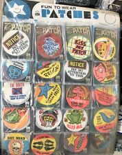 sew on patches vintage