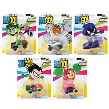 Hot Wheels Teen Titans Go! DMH73 5 Pack Diecast Toy Cars