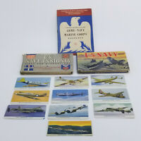 WW2 US Military Paper Lot Navy Army Air Corps Marine Books Insignia Trade Cards