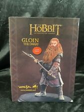 "Weta Workshop Lord Of The Rings The Hobbit ""Gloin The Dwarf"" Statue Figure Bust"