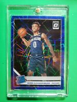 Nickeil Alexander-Walker 2019-20 Donruss Optic Rated Rookie BLUE Velocity PRIZM