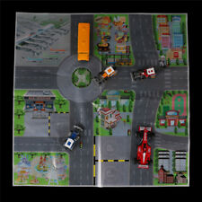 61*61CM City PARKING LOT Roadmap Toy  Model Car Climbing Mat TOY Gifts Pip JB