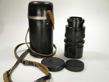 Lomo G-53 f/2 75 mm movie projection lens adapted to M 4/3 mount, S/N 810506